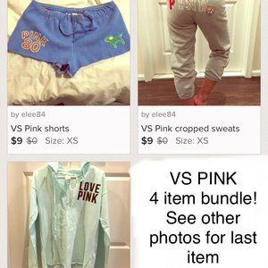 PINK Victoria's Secret Shorts - VS PINK bundle